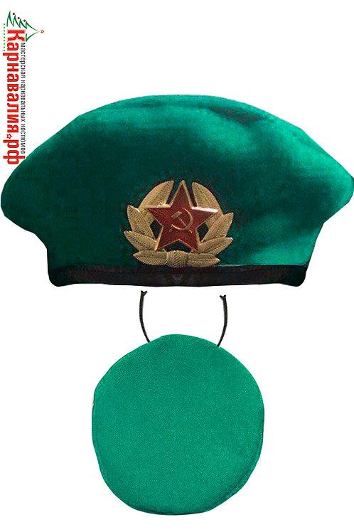 Берет Пограничник зеленый