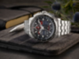 Citizen gentleman's watch with chronograph with business tools.
