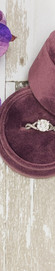 """14K White Gold and .60cttw """"WOW!"""" Diamond Twisted Style Engagement Ring"""