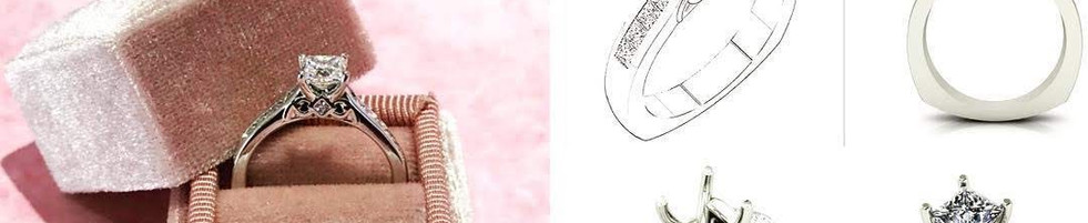 Elegant Custom Ring, Start to Finish