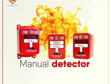 مكونات نظام انذار الحريق