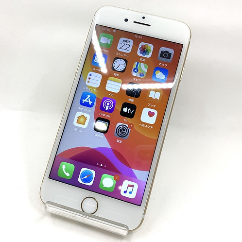 【バッテリー83%】 SIMフリー iphone7 128GB ゴールド 839