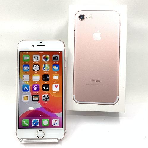 【SIMフリー】格安SIM対応 iPhone7 128GB ローズ 676