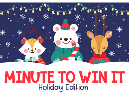 Minute to Win It Holiday Edition