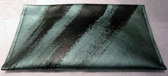 Green Vinyl Clutch