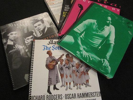 Album Cover Notebooks (set of 3)