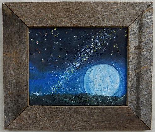 Moon & Milky Way