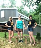 Seeking Stars Art Team visited the Homestead Farm Center Charity in Grafton, WV
