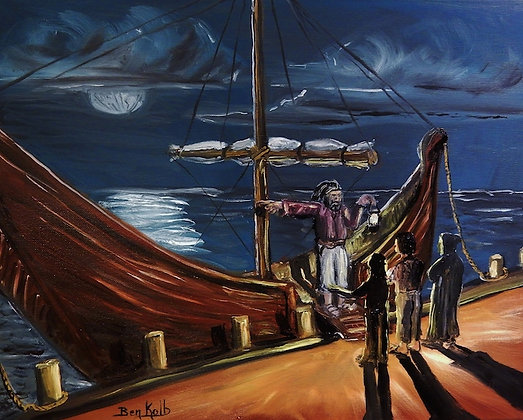 Seafaring Man Print