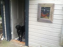 Artist, Flintknapper and Carver, Ben Kolb's Dog