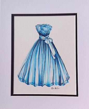 Baby's Not Blue Dress
