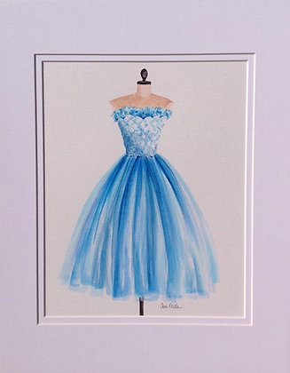 Fantasy Blue Dress