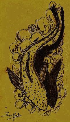 Trout Fishing Print