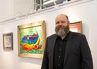 Artist, Ben Kolb in Richmond, VA