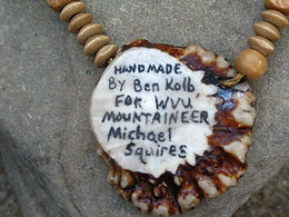 WVU Mountaineer Necklace created by Ben Kolb