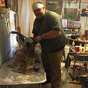 Artist, Flintknapper and Carver, Ben Kolb