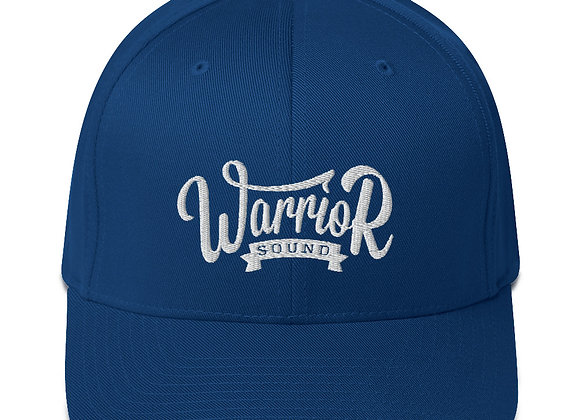 Warrior Sound Structured Twill Fullcap - Royal Blue