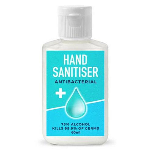 60ml Hand Sanitisers (250 units @ $2.65 each)
