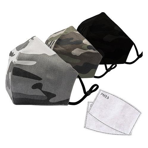 Reusable Filter Face Masks (500 units @ $3.99 each)
