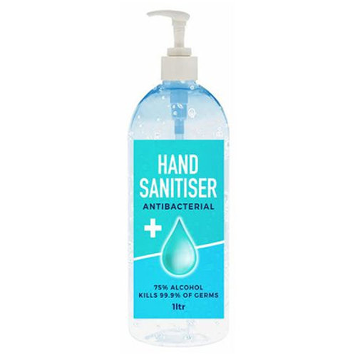 1 Litre Hand Sanitiser Pumps (250 units@ $12.78 each)