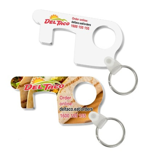 Full Colour Touchless Keyrings (250 Units @ $3.08 each)