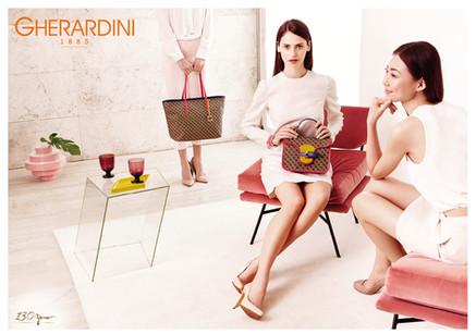 ADV S/S 2015 GHERARDINI (Gruppo Braccialini)