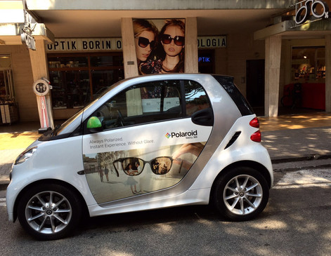 Car Wrapping for Safilo