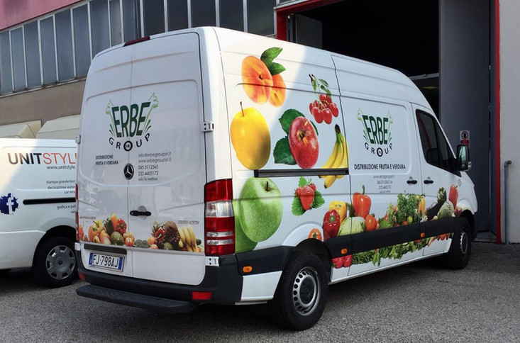 Car Wrapping for Erbe Group