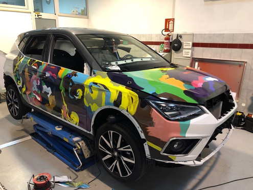 Car Wrapping for Car Reseller
