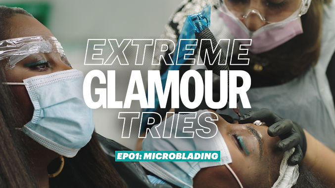 EXTREME GLAMOUR TRIES - Editorial Project