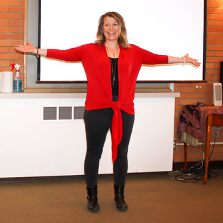 Jodie Rollins gave a fabulous and enlightening presentation on The Law of Attraction!