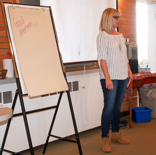 We were so lucky to have Paula Haygarth come and speak about Neuro Linguistic Programming!