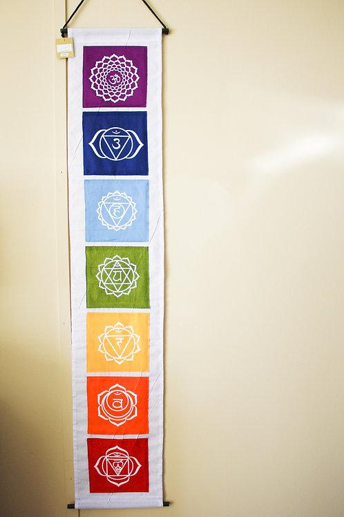 7 Chakras Banner - Large