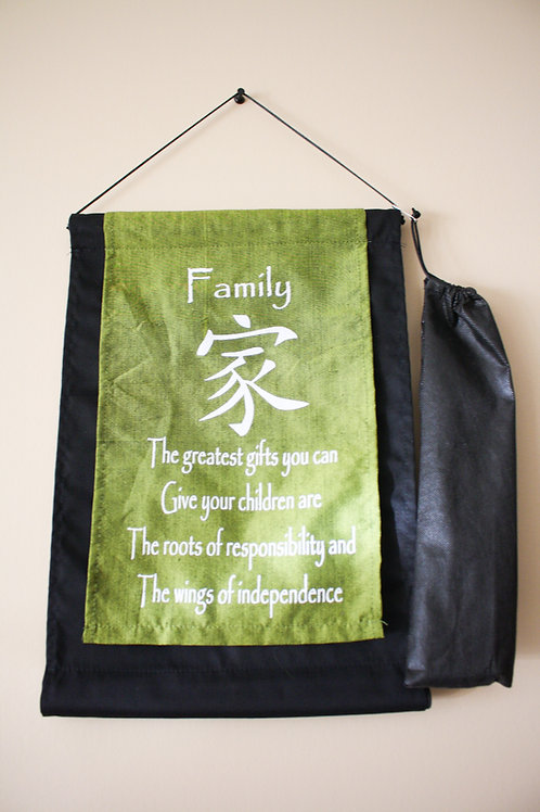 Green Family Banner - Small