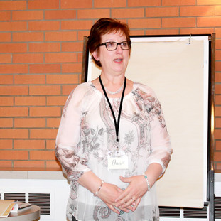 Dawn Weber presents information on Reflexology