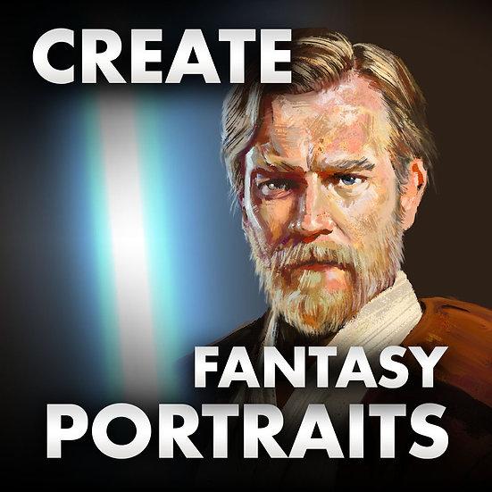Fantasy Portrait – Digital Painting Tutorial