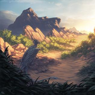 Blue Desert Dragon