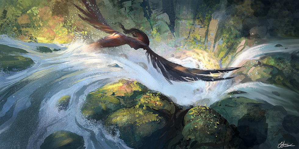 Flight of the Forest Spirit