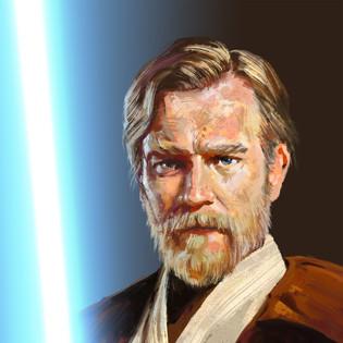 Exiled Kenobi Portrait