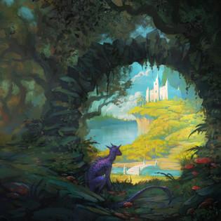 """""""Enchanted Sacred Garden"""" Cover Art"""