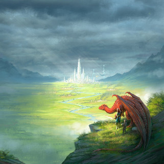 """""""Dragons Within: Guarding Her Own"""" Cover Art"""