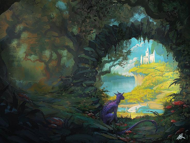 Enchanted Sacred Garden
