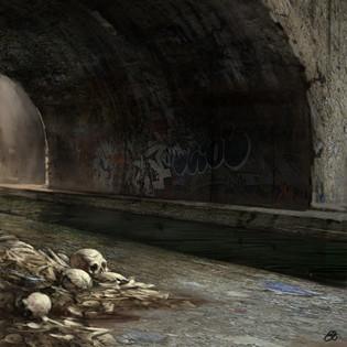 Bones Under A Bridge