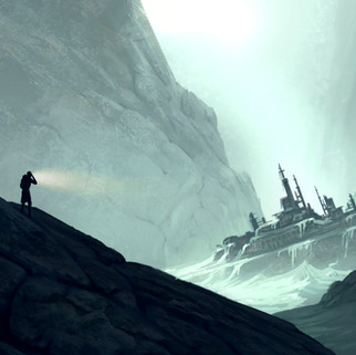 Frozen Shipwreck