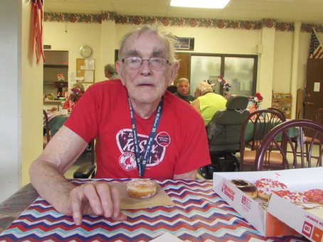 Fifteen years at Laconia Housing and young at heart