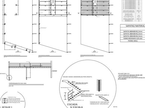 Projeto Estrutura Metálica Galpão