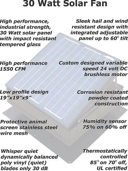 Solar Fan Installers - Tampa Attic Fan -