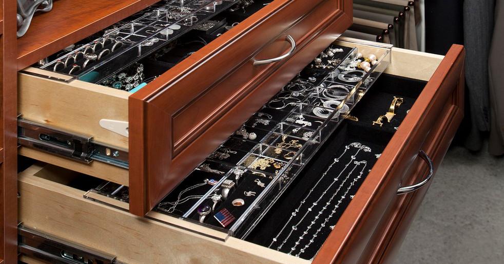 Warm Cognac Premier Drawers
