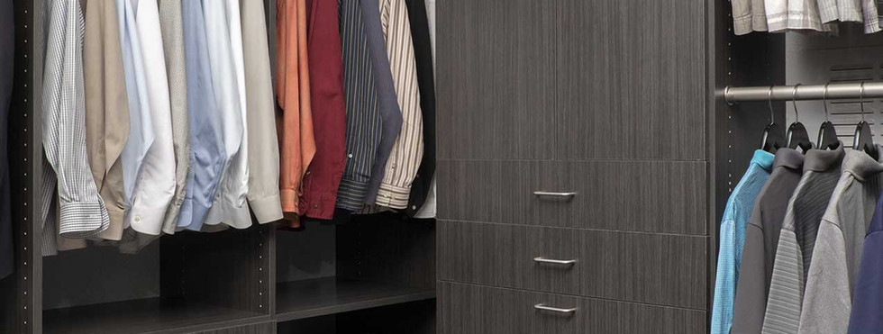 Licorice Flat Panel Closet