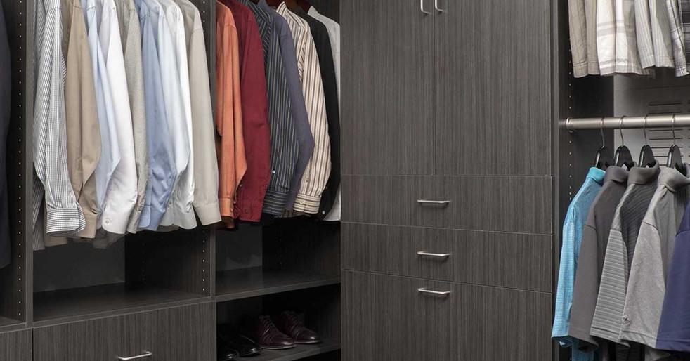 Licorice Flat Panel Closet